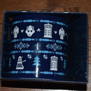 Other - Doctor Who themed Ugly Christmas Sweater mug